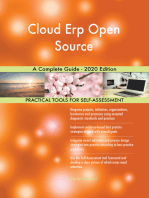 Cloud Erp Open Source A Complete Guide - 2020 Edition