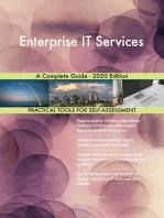 Enterprise IT Services A Complete Guide - 2020 Edition