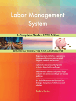 Labor Management System A Complete Guide - 2020 Edition