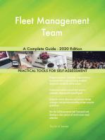 Fleet Management Team A Complete Guide - 2020 Edition