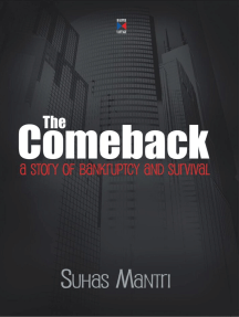 Comeback : A Story Of Bankruptcy And Survival