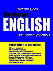 Preston Lee's Beginner English For Finnish Speakers