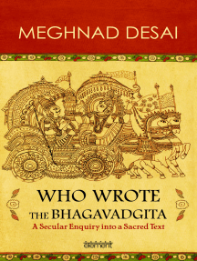 Who Wrote the Bhagavadgita