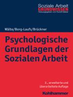 Psychologische Grundlagen der Sozialen Arbeit