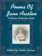 Poems of Jane Austen, a Classic Collection Book