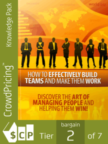 How to Effectively Build Teams and Make Them Work