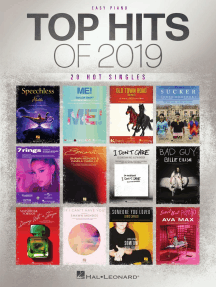Top Hits of 2019: Easy Piano Songbook