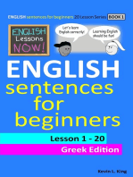 English Lessons Now! English Sentences For Beginners Lesson 1