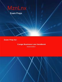 Exam Prep for:: Congo Business Law Handbook