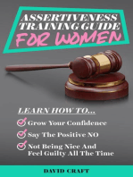 Assertiveness Training Guide for Women