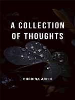 A Collection of Thoughts