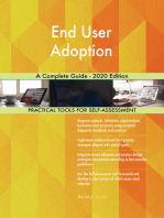 End User Adoption A Complete Guide - 2020 Edition