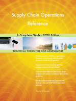 Supply Chain Operations Reference A Complete Guide - 2020 Edition