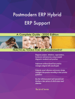 Postmodern ERP Hybrid ERP Support A Complete Guide - 2020 Edition