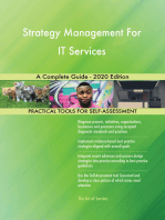 Strategy Management For IT Services A Complete Guide - 2020 Edition