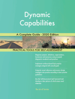 Dynamic Capabilities A Complete Guide - 2020 Edition