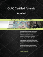 GIAC Certified Forensic Analyst A Complete Guide - 2020 Edition