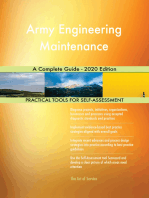 Army Engineering Maintenance A Complete Guide - 2020 Edition