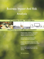 Business Impact And Risk Analysis A Complete Guide - 2020 Edition