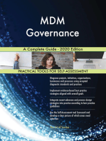 MDM Governance A Complete Guide - 2020 Edition
