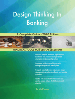 Design Thinking In Banking A Complete Guide - 2020 Edition