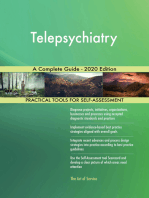 Telepsychiatry A Complete Guide - 2020 Edition
