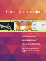 Reliability In Statistics A Complete Guide - 2020 Edition