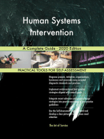 Human Systems Intervention A Complete Guide - 2020 Edition