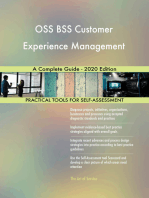 OSS BSS Customer Experience Management A Complete Guide - 2020 Edition