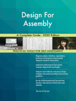 Design For Assembly A Complete Guide - 2020 Edition
