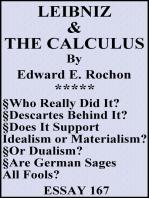 Leibniz & the Calculus
