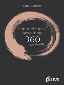 Unternehmensbewertung: 360 Grundbegriffe kurz erklärt