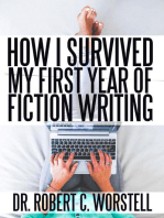 How I Survived My First Year of Fiction Writing