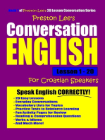 Preston Lee's Conversation English For Croatian Speakers Lesson 1