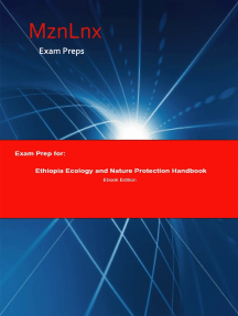 Exam Prep for:: Ethiopia Ecology and Nature Protection Handbook