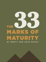 The 33 Marks of Maturity