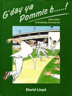G'day ya Pommie b******!