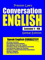 Preston Lee's Conversation English Lesson 1