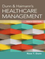 Dunn & Haimann's Healthcare Management, Tenth Edition