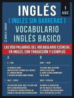 1 – ABC - Inglés (Inglés Sin Barreras) Vocabulario Ingles Basico