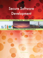 Secure Software Development A Complete Guide - 2020 Edition
