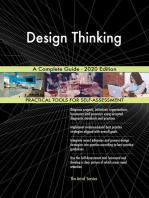 Design Thinking A Complete Guide - 2020 Edition