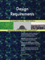 Design Requirements A Complete Guide - 2020 Edition