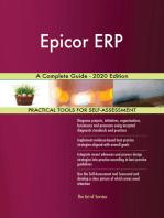 Epicor ERP A Complete Guide - 2020 Edition