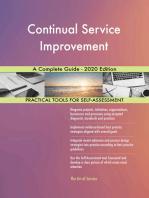 Continual Service Improvement A Complete Guide - 2020 Edition
