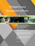 Privileged Access Management Software A Complete Guide - 2020 Edition