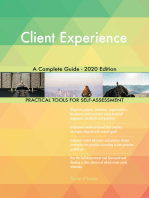Client Experience A Complete Guide - 2020 Edition