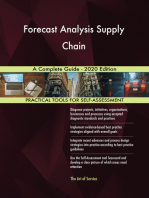 Forecast Analysis Supply Chain A Complete Guide - 2020 Edition