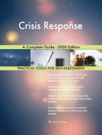 Crisis Response A Complete Guide - 2020 Edition