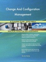 Change And Configuration Management A Complete Guide - 2020 Edition